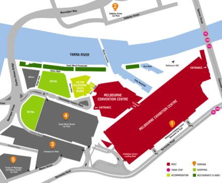 National-Manufacturing-Week-2019-getting-there-venue-parking-map